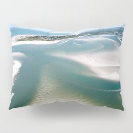 Rich's Inlet at the North End of Figure 8 Island | Wilmington NC Pillow Sham