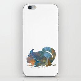 Chinchilla art iPhone Skin