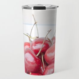Red cherries Travel Mug