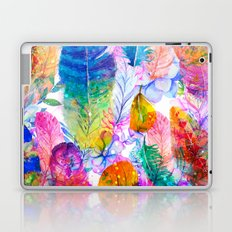 spring feathers Laptop & iPad Skin