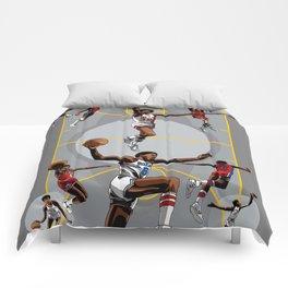 Dr. J; Illuminated Comforters