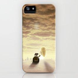 Robo-love iPhone Case