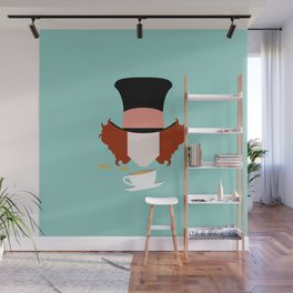 The Hatter Wall Mural