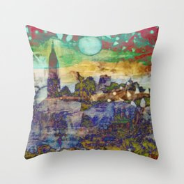 City of my Dreams Throw Pillow