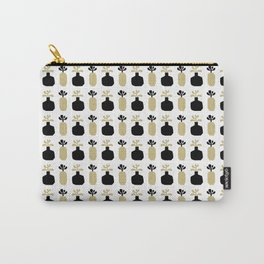 Mod Vases in Beige Carry-All Pouch
