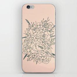 Bouquet series iPhone Skin