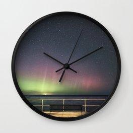 April Aurora Wall Clock