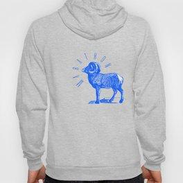 RAM TEE BLUE Hoody