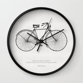 The Bicycle Wall Clock