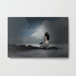solitary confinement  Metal Print