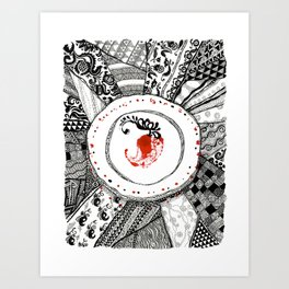 Mood of Ukraine Art Print