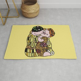 The Pig Kiss Rug