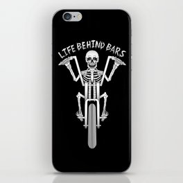 Life Behind Bars iPhone Skin