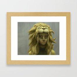 Boy King Framed Art Print