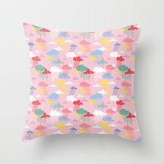 Cloud Pattern Throw Pillow