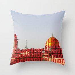 G.H.N.R. Throw Pillow