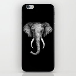 Elephant Head Trophy iPhone Skin