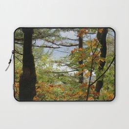 Columbia Rover Gorge Washington Trees in Autumn Laptop Sleeve