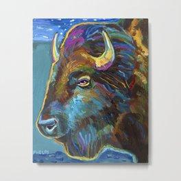 Buffalo Spirit Metal Print
