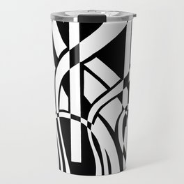 smoothed confusion Travel Mug