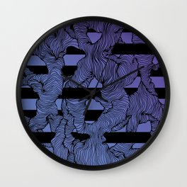 Ultraviolet Energy Wall Clock