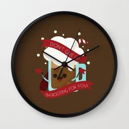 Rooting Beer Wall Clock