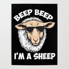 Beep Beep I'm A Sheep Poster