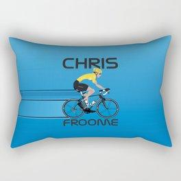Chris Froome Yellow Jersey Rectangular Pillow
