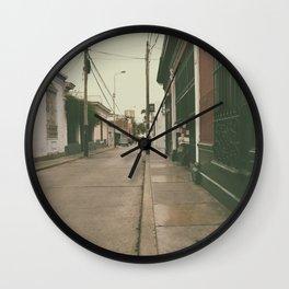 Lima Street Wall Clock