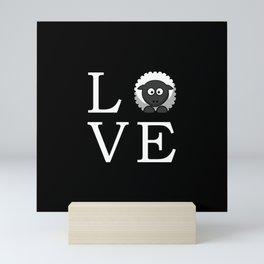 Sheep Love Mini Art Print