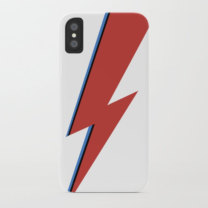 bowie bolt iphone case