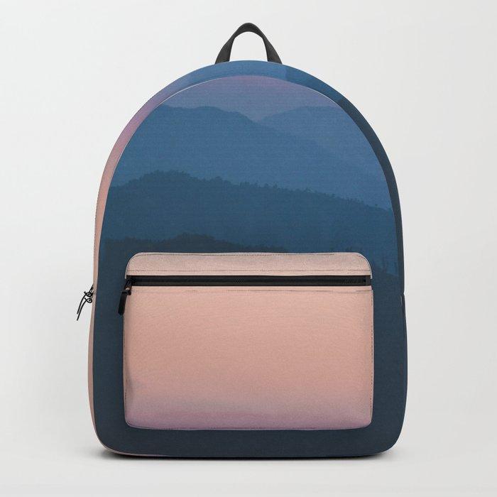 Sunset over Nepal Backpack
