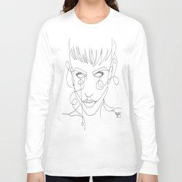 Single Line Long Sleeve T-shirt