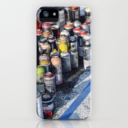 An Artist's Tools iPhone Case