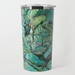 The Aquamarine Labyrinth (detail no. 2) Travel Mug