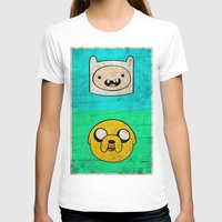 finn and jake T-shirts featuring Finn & Jake by WolfFace