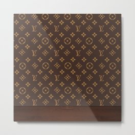 Louisvuitton Metal Print