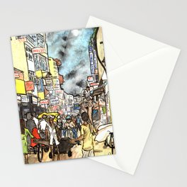 Freaky New Delhi Stationery Cards