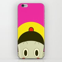 poker iPhone & iPod Skins featuring Poker Face by Cyborgking