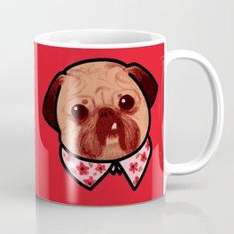 Toofy Pug  Coffee Mug