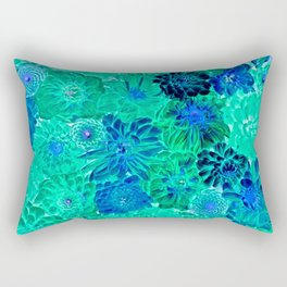 Wall Flowers Rectangular Pillow
