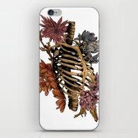 bones iPhone & iPod Skins featuring Bones by Zé Pereira Illustration