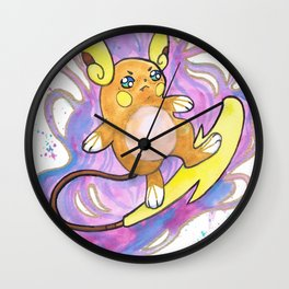 Psychic Surf Wall Clock