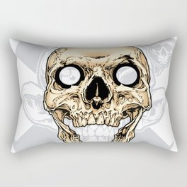 Skull 002 Rectangular Pillow