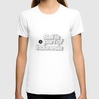indonesia T-shirts featuring Bali is part of Indonesia Lines by Vectdo