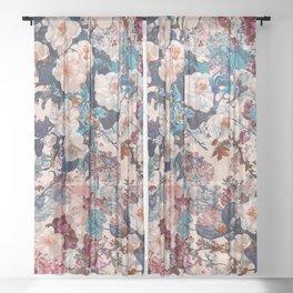 Romantic Garden XII Sheer Curtain