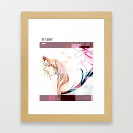 Et Fleure Framed Art Print