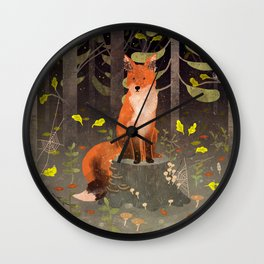 Rotfuchs Wall Clock