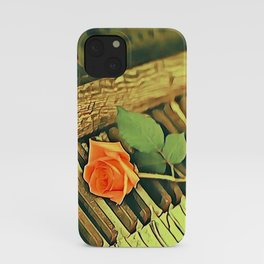 Declaration of Love iPhone Case
