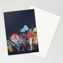 Wild Mushrooms Stationery Cards